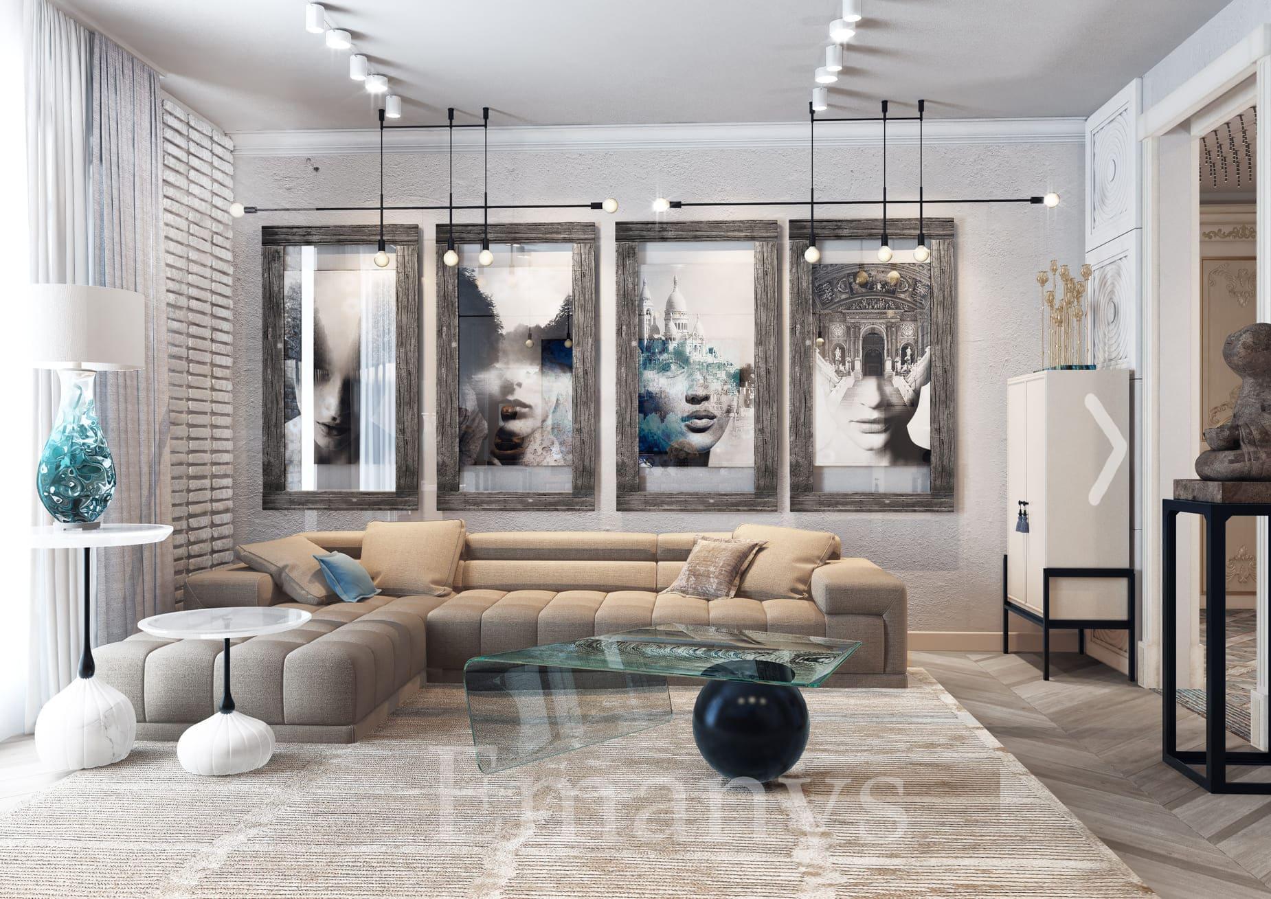 Дизайн интерьера прихожей Emanys