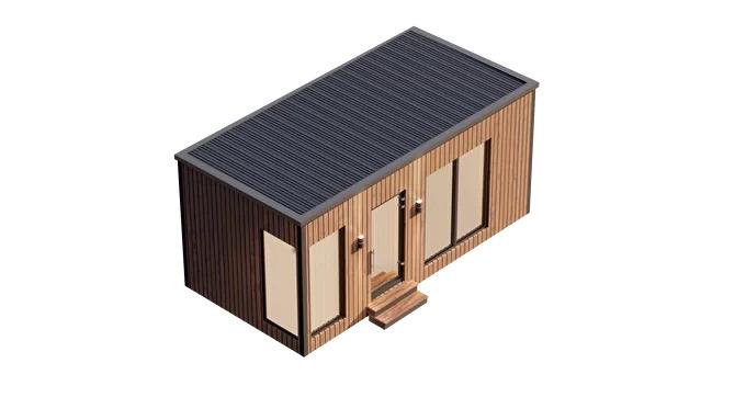 Модульный дом Hygge Box