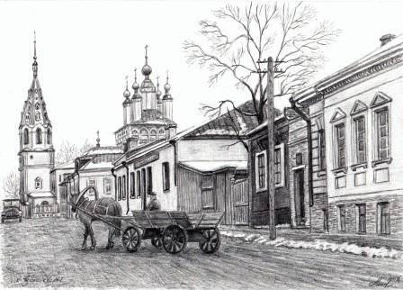 К Георгиевской, 1941 г.