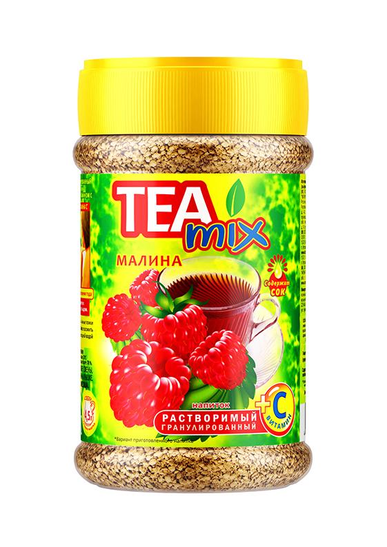 Картинка Напиток чайный гранула TEAMIX малина