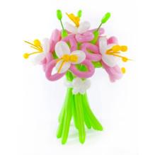 Лилии из шаров для учительницы