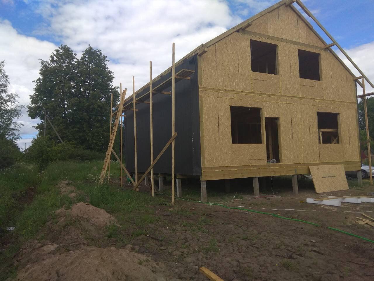 фото дома из сип панелей №1 зеленогорск