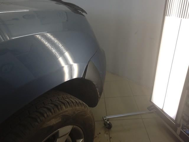 Вмятина на Renault Duster