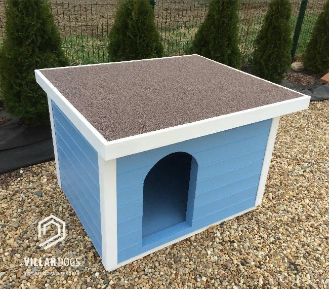 Будка для домашней кошки (каракл) с когтеточкой на крыше  | Фотографии | VillarDogs