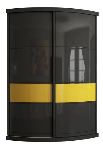 Выгнутый радиусный шкаф M-4 цена