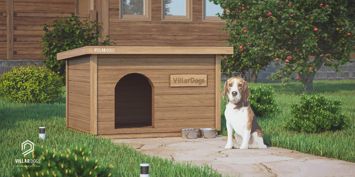 Будка для большой собаки | Фотографии | VillarDogs