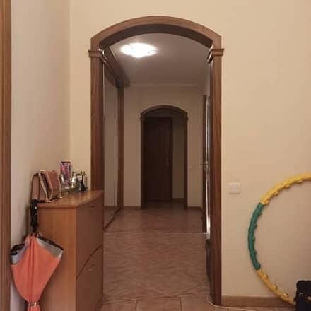 Межкомнатная арка с небольшим радиусом