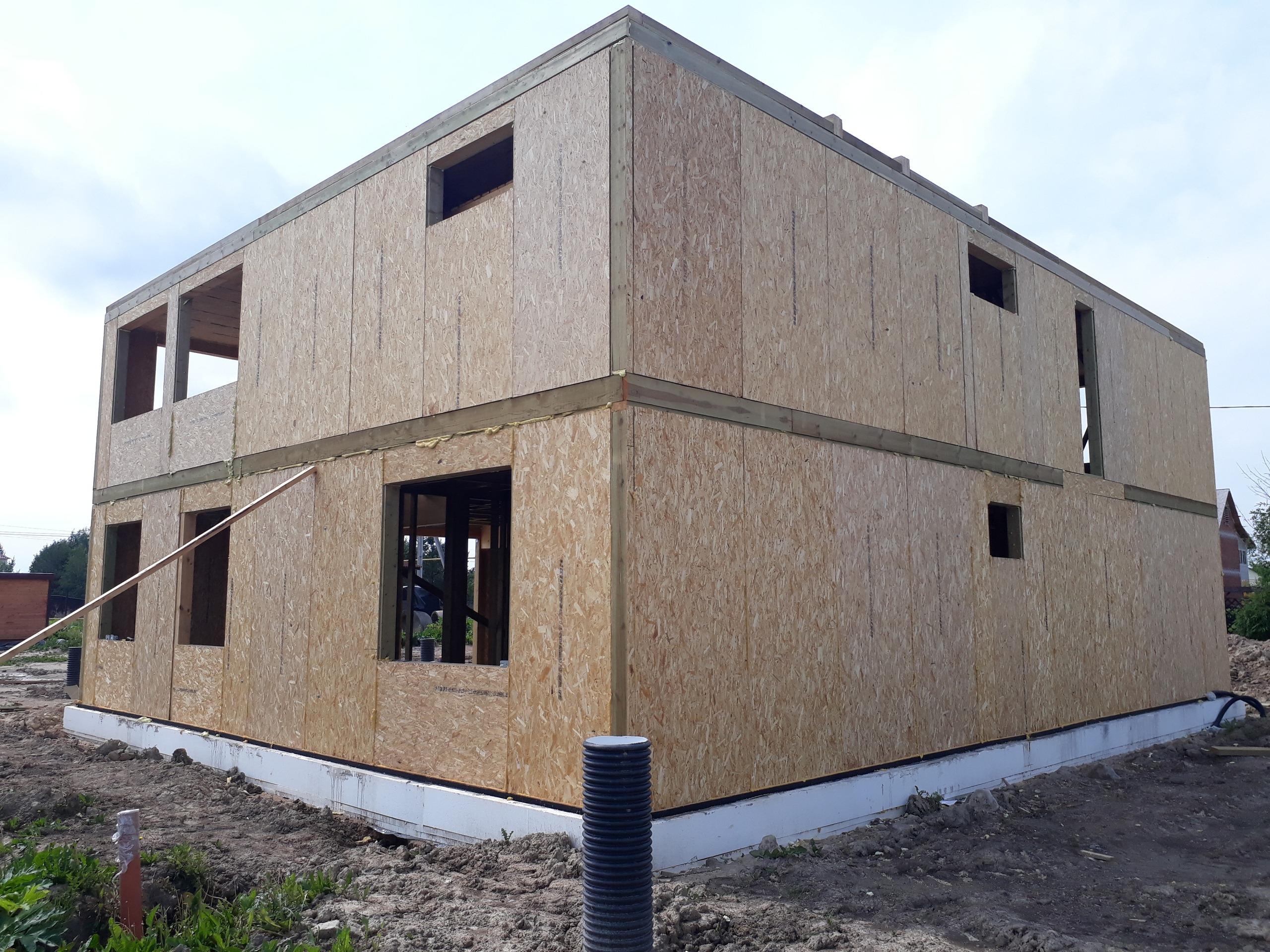 фото дома из сип панелей №10 коммунар