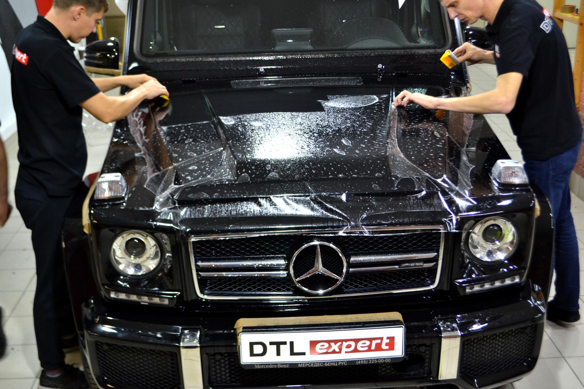Оклейка авто защитной пленкой