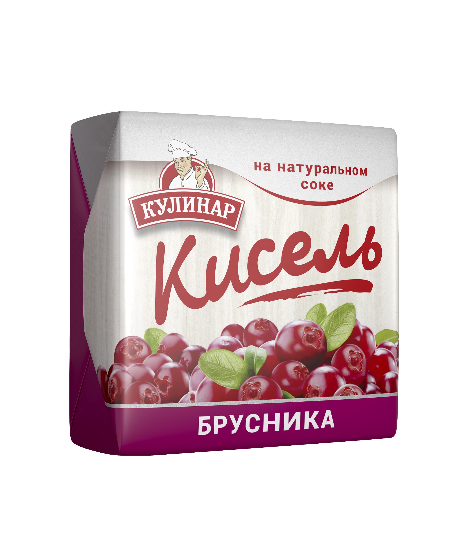 Картинка Кисель КУЛИНАР брусника