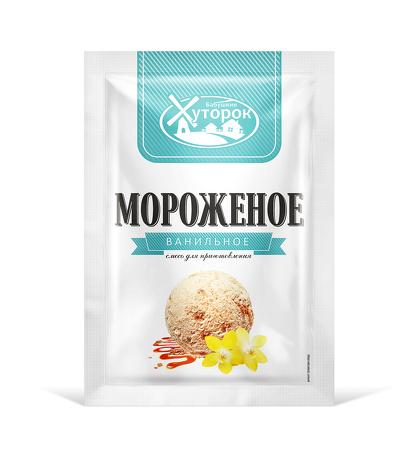 Картинка Мороженое БАБУШКИН ХУТОРОК ванильное