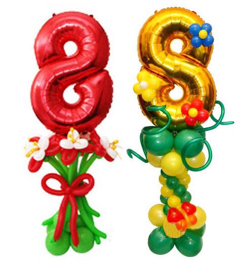Гелиевые шарики №12 без обработки