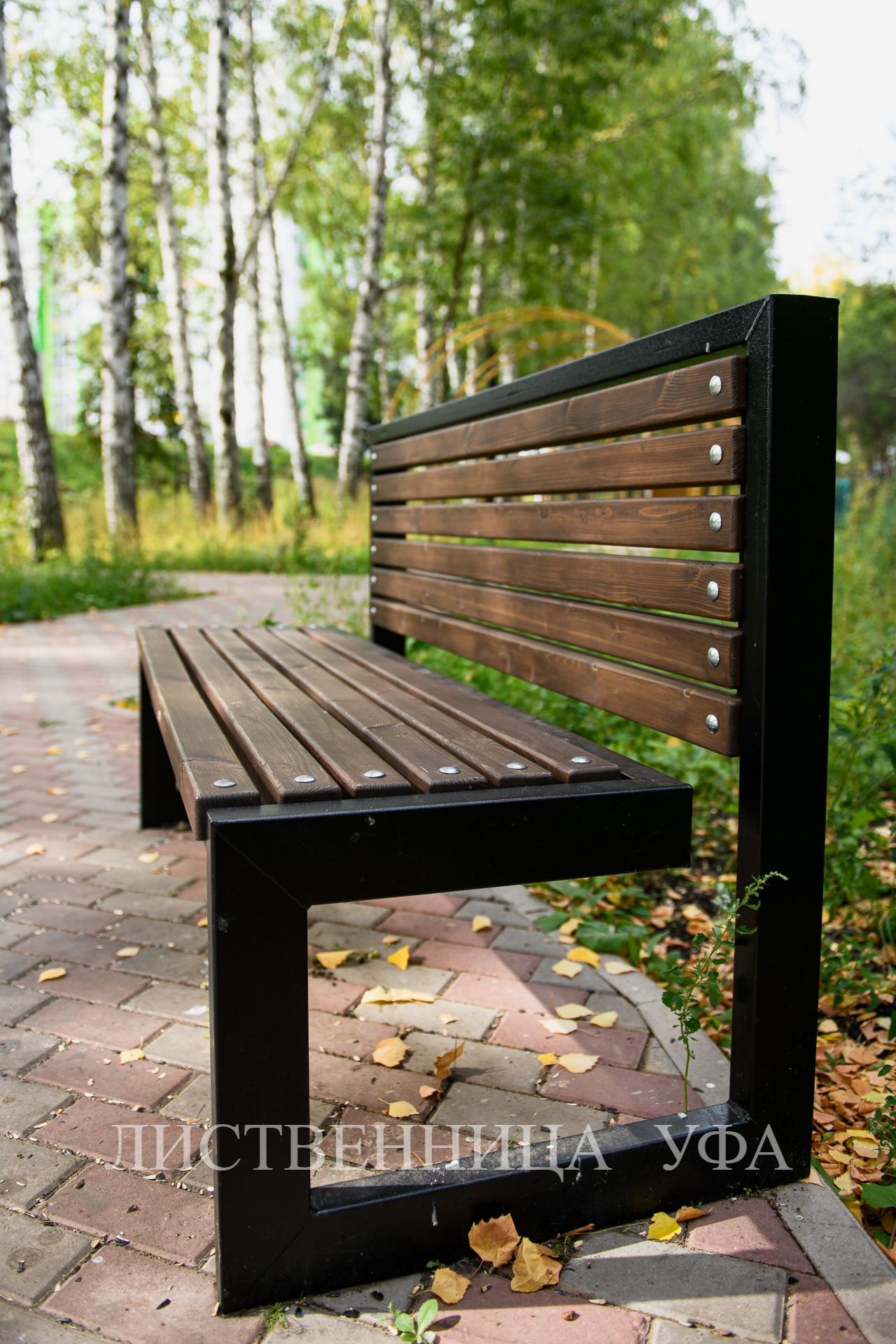 скамейка палубная доска из лиственницы