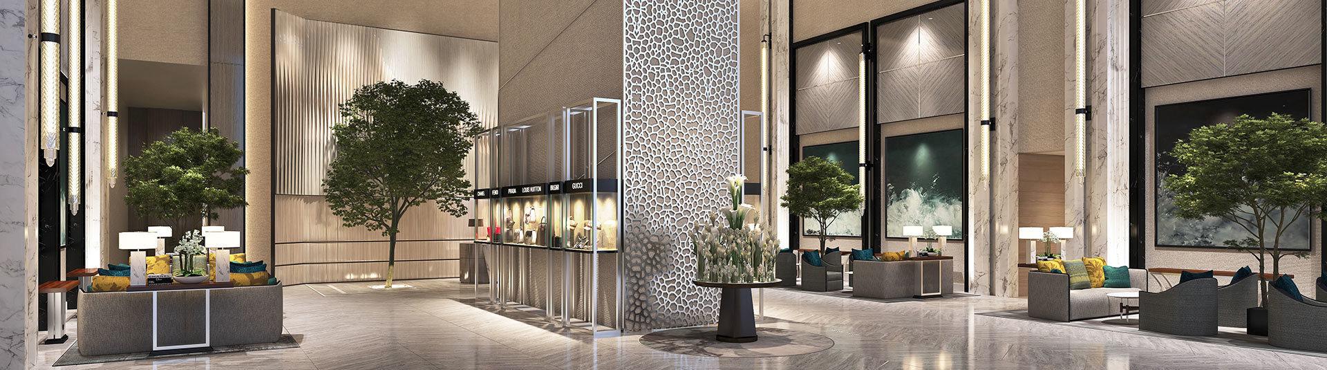 ذا ادريس ريزيدنس فاونت فيوز من إعمار في وسط مدينة دبي