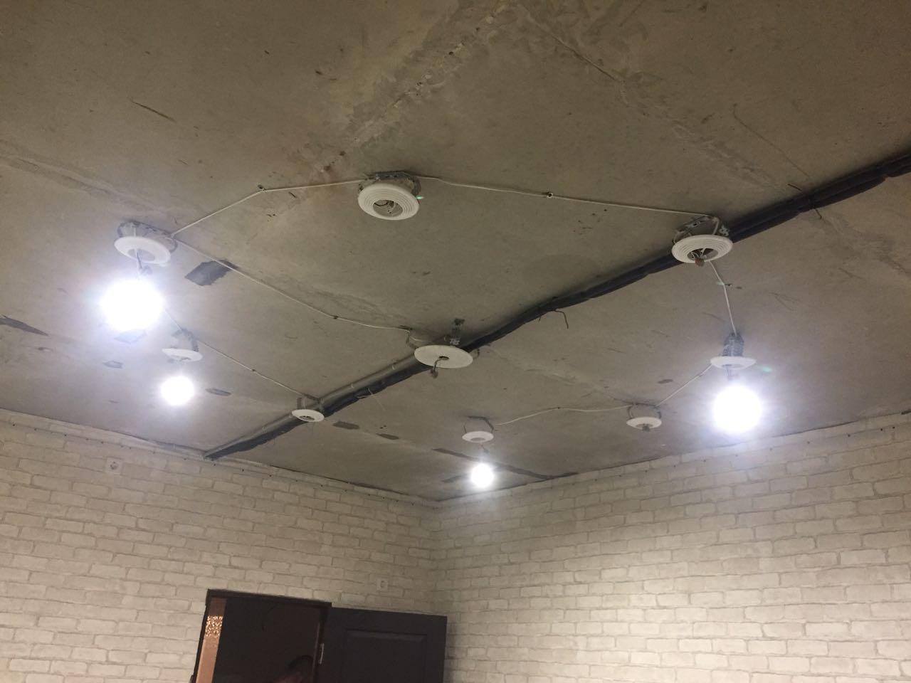 Освещение  под натяжной потолок для детской комнаты