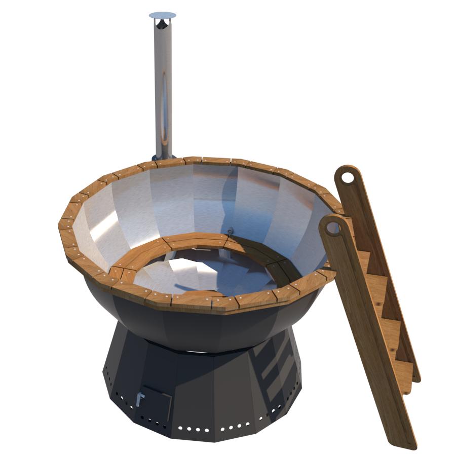премиум чан с ветрозащитой