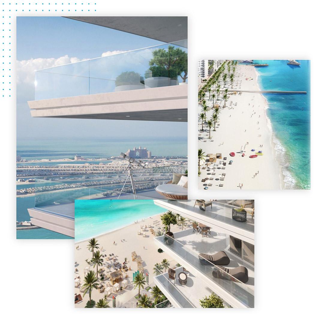 Grand Bleu Tower at Emaar Beachfront Dubai
