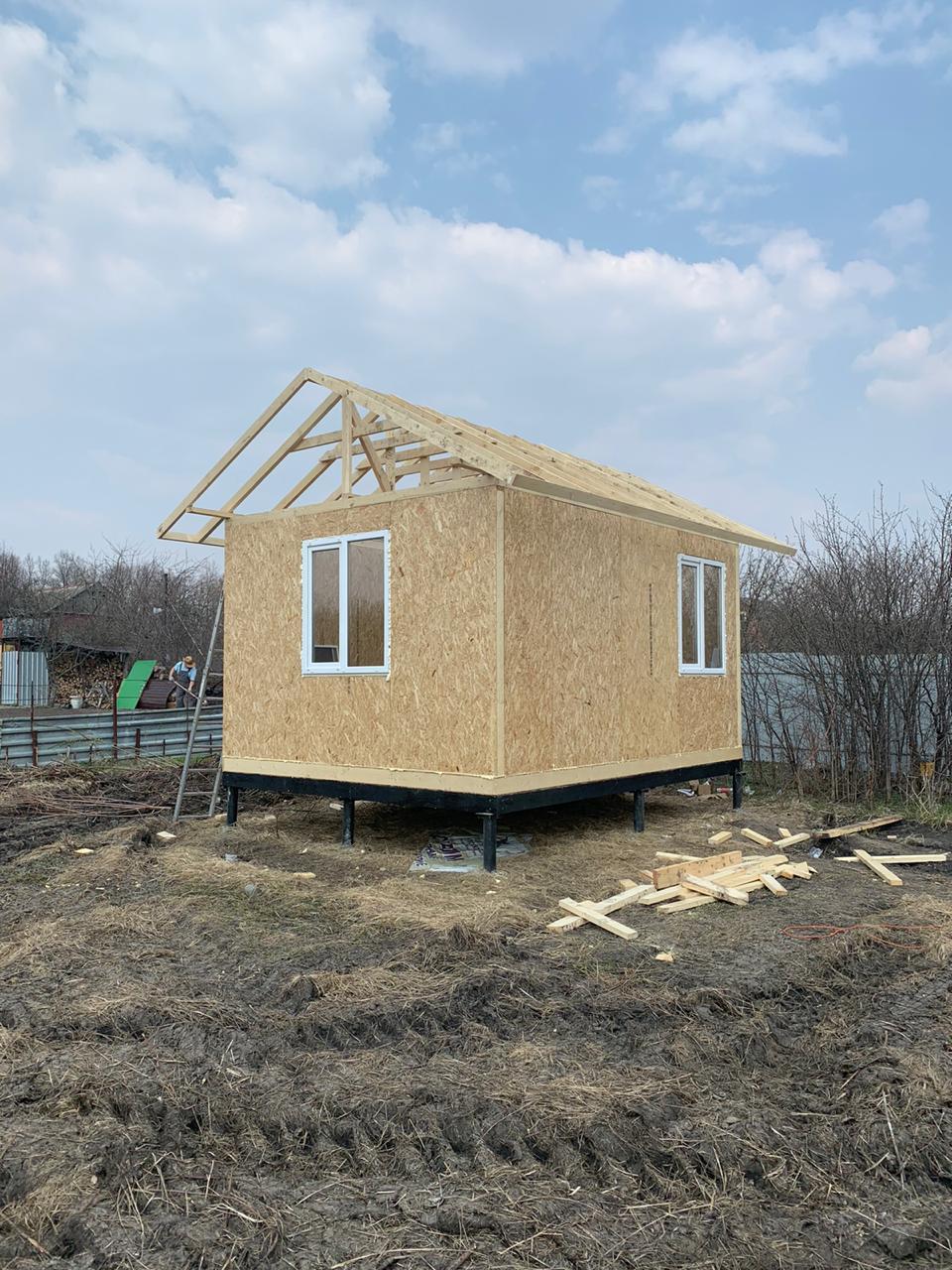 фото дома из сип панелей №2 белоостров