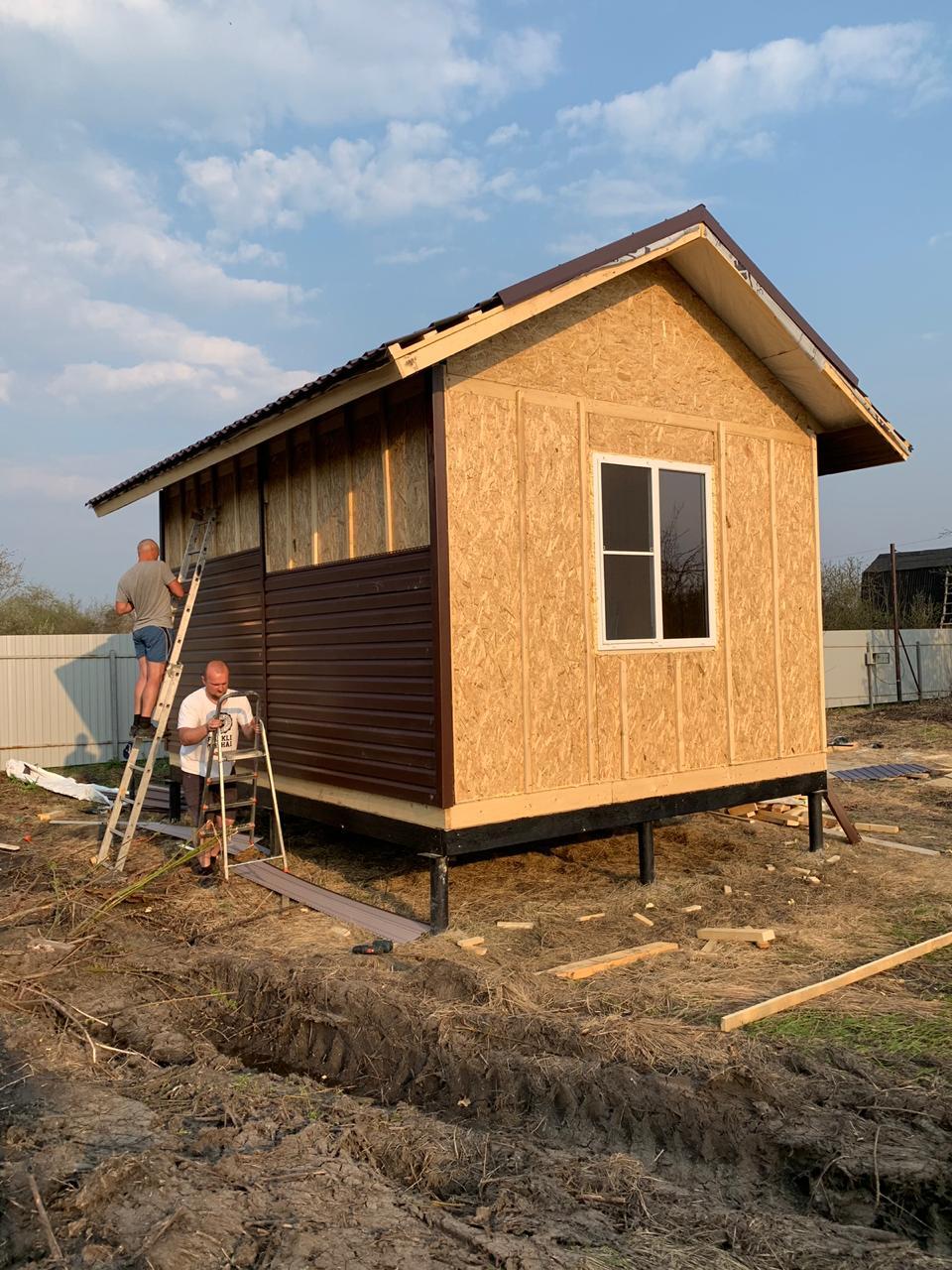 фото дома из сип панелей №1 белоостров