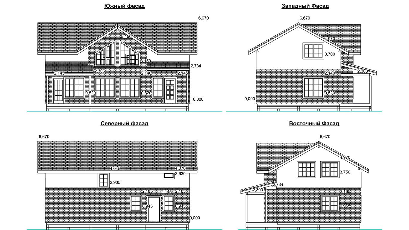 Фасады Leipzig Rahmenhaus  (Каркасный дом Лейпциг)