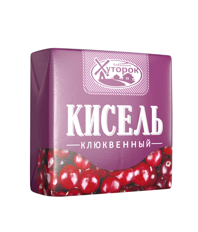 Картинка Кисель БАБУШКИН ХУТОРОК клюква