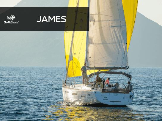 Парусная яхта James