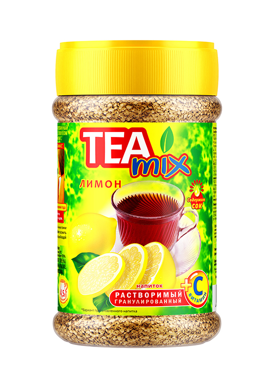 Картинка Напиток чайный гранула TEAMIX лимон