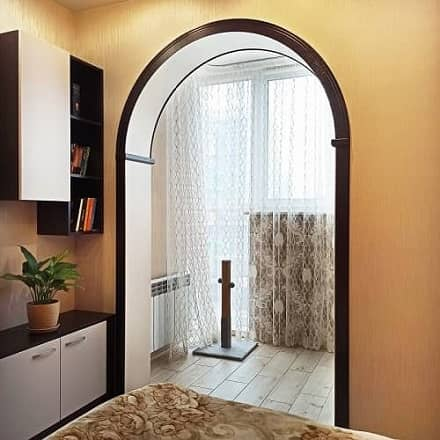 Радиусная дверная арка