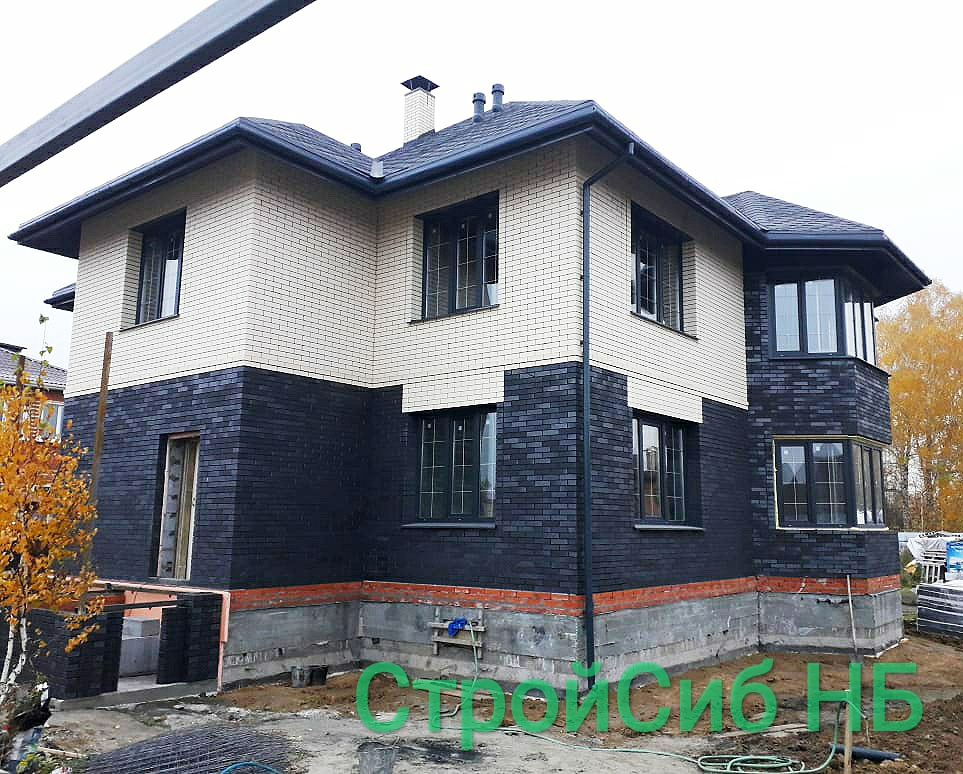 Строительство дома коттеджа СтройСиб НБ