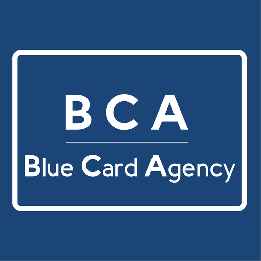 Логотип Blue Card Agency