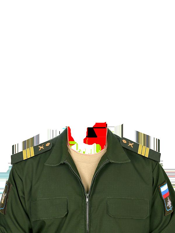 Фотография униформы сержант