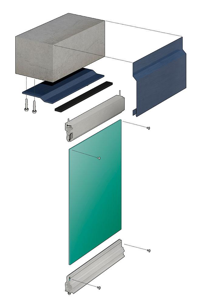 Устройство профиля безрамного остекления балконов и лоджий