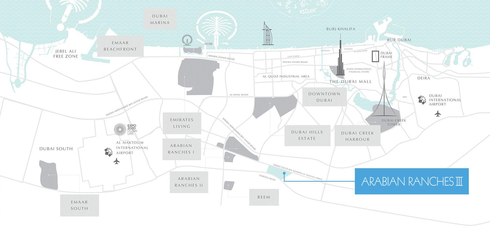 إعمار سبرينج تاون هاوس. في المرابع العربية 3 - منازل من نوع تاون هاوس للبيع في دبي
