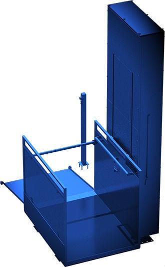 Вертикальный электрический подъёмник