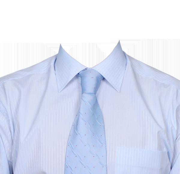голубая рубашка фотография на документы