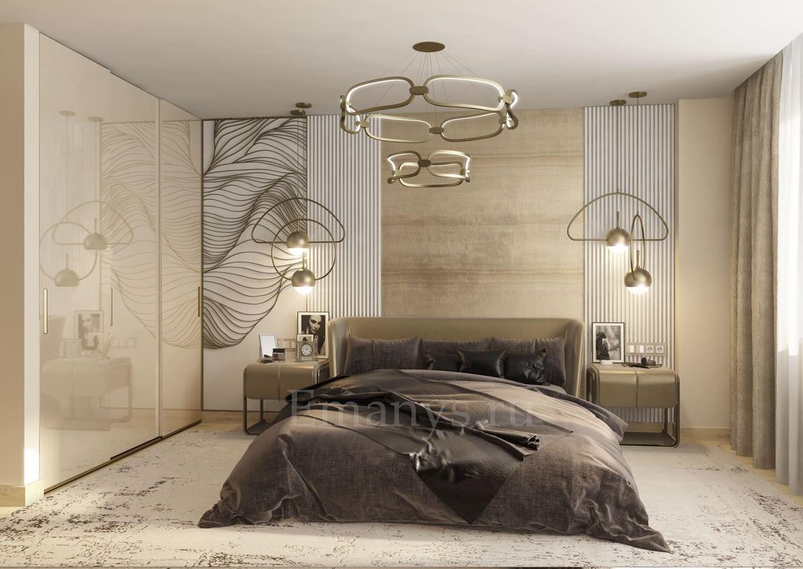 Дизайн интерьера спальная Emanys
