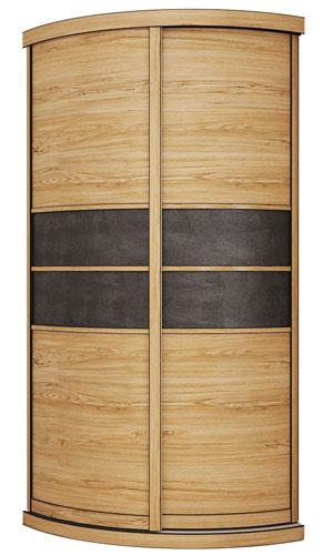 Выгнутый радиусный шкаф M-3 цена