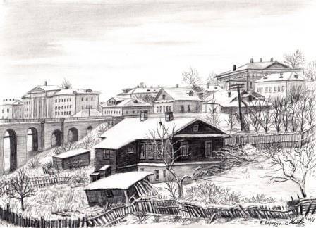 В Березуйском овраге, 1950-е