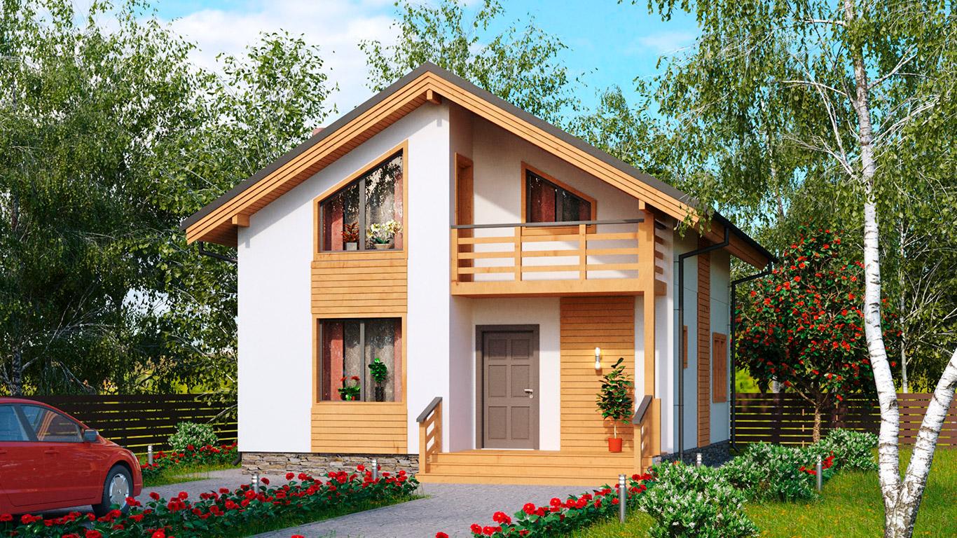 Koln 1.0 Rahmenhaus (Каркасный дом Кельн 1.0) 2