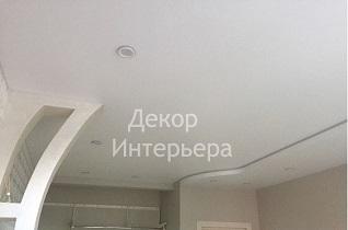 Картинка двухуровневого натяжного потолка в Вашем городе по низкой цене от 720 руб м2