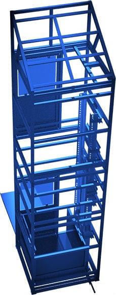Вертикальный уличный подъёмник