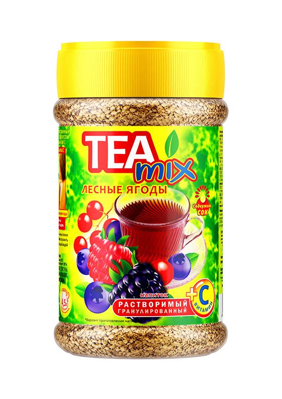Картинка Напиток чайный гранула TEAMIX лесные ягоды