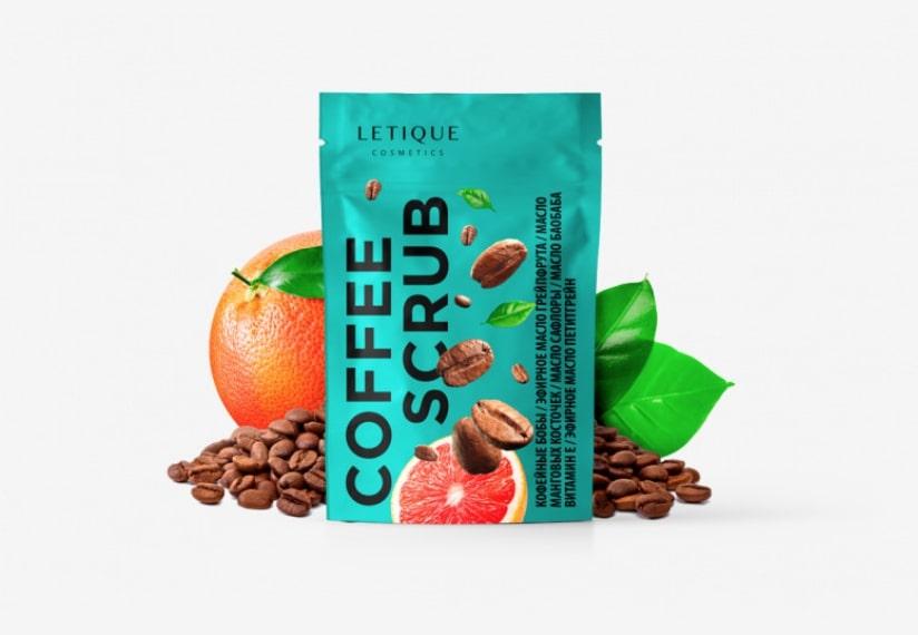 Кофе скраб Letique - фото