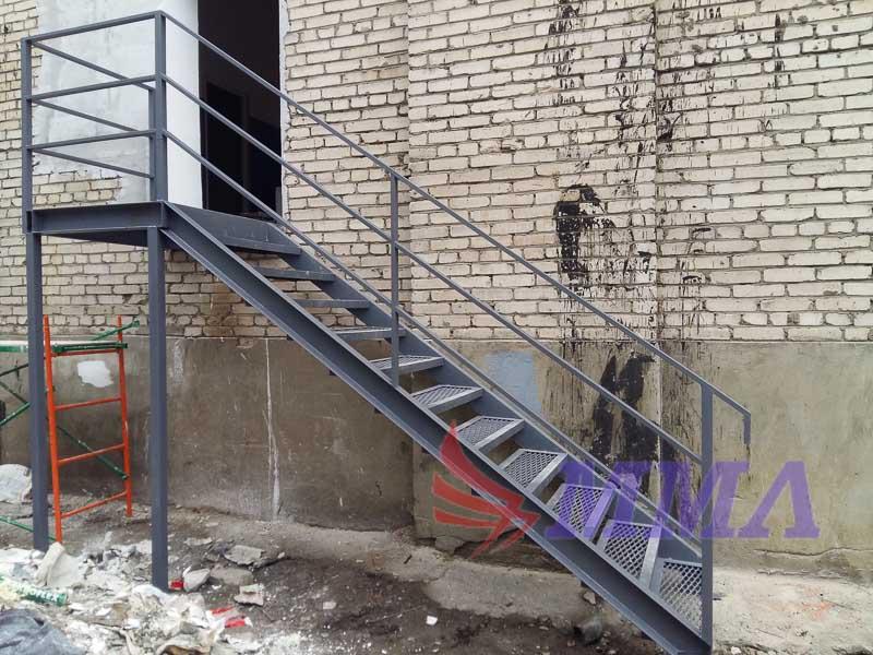 перила, лестница, промышленная лестница,