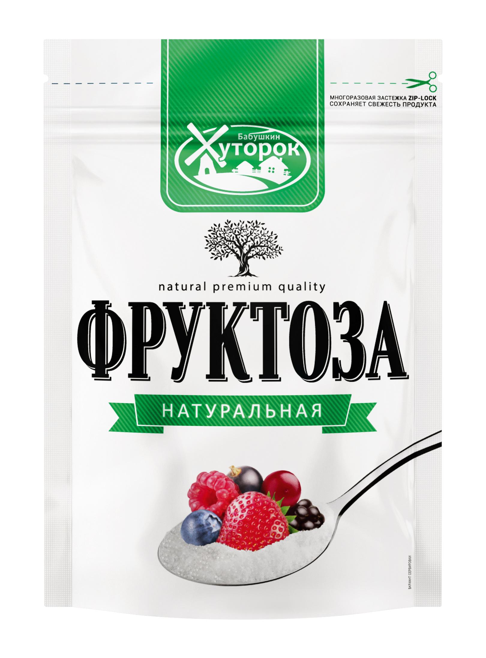 Картинка Фруктоза БАБУШКИН ХУТОРОК