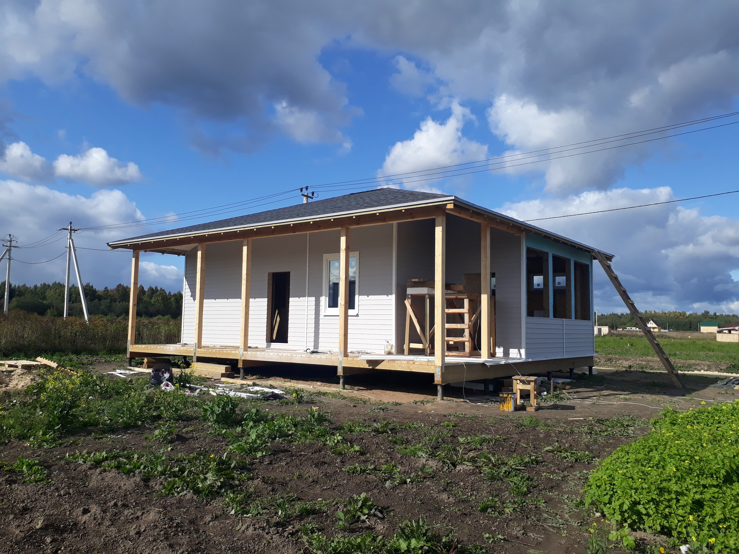фото дома из сип панелей №4 марьины дачи