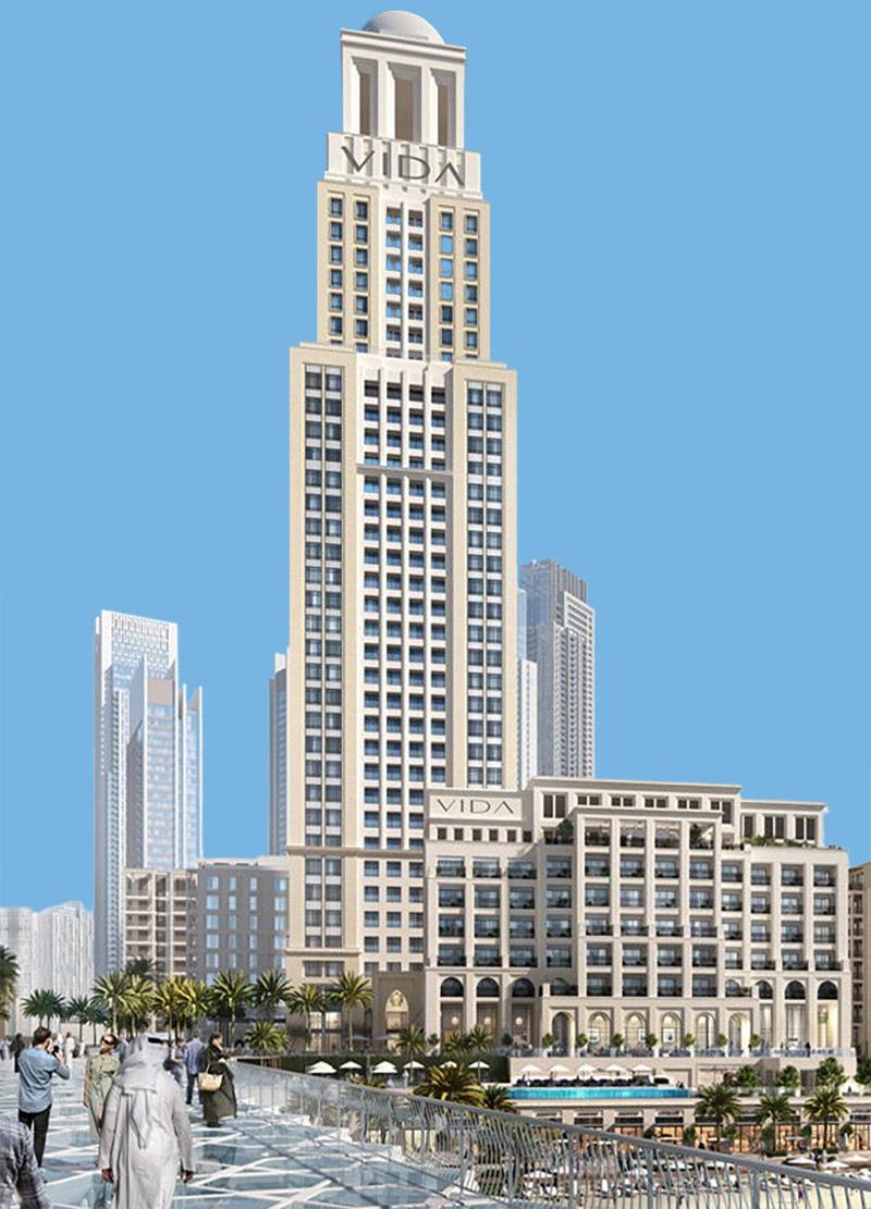 فيدا رزيدنسز شاطئ الخور في دبي كريك هاربور من قبل شركة إعمار العقارية ، دبي - شقق قيد الإنشاء