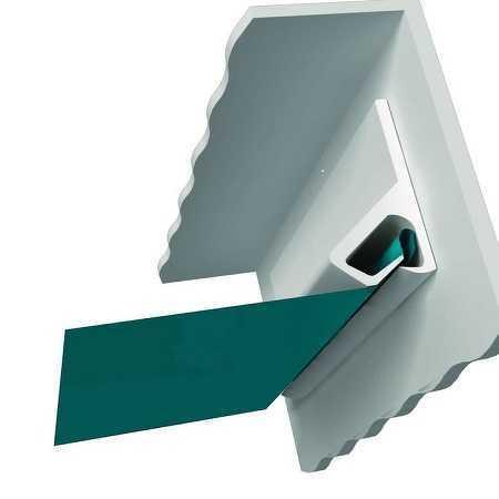 Картинка  клипсовой системы крепления натяжных потолков Декор Интерьера в Вашем городе по низкой цене от 199 руб м2