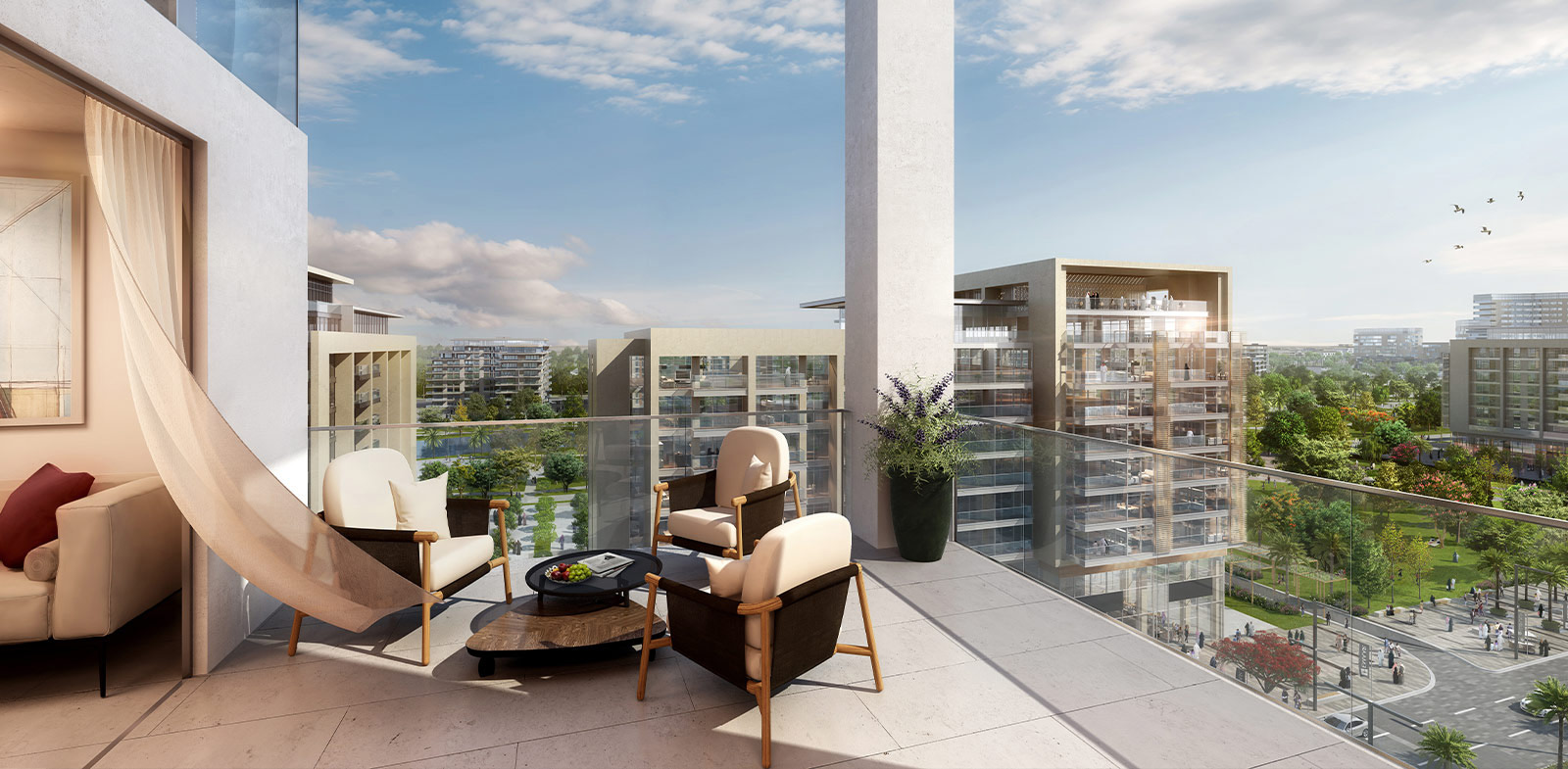 Emaar Park Point Apartments in Dubai Hills Estate – Apartments for Sale