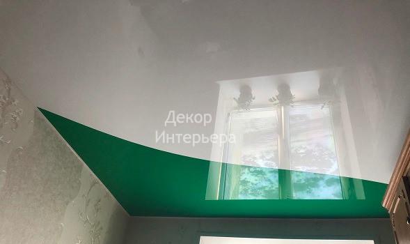 Картинка криволинейная спайка натяжные потолки Курск от 199 руб/м2